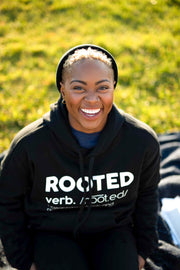 The Definition of ROOTED Hoodie - Stained Glass Apparel