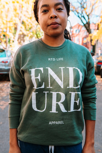 RTD LFE | Rooted Life Endure Crewneck