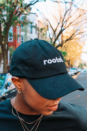 rooted. dad hat - Stained Glass Apparel