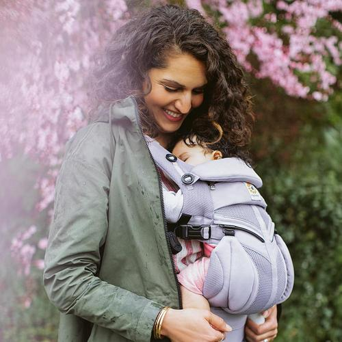 NEW LILAC GREY ERGOBABY CARRIERS