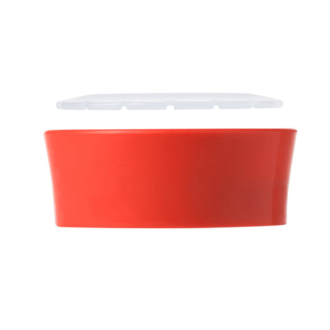 OXO TOT Grow Cup Open Cup Trainer Lid - Orange