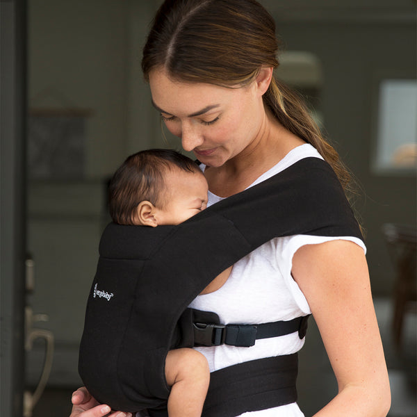 Ergobaby Embrace Newborn Carrier - Pure Black (2)