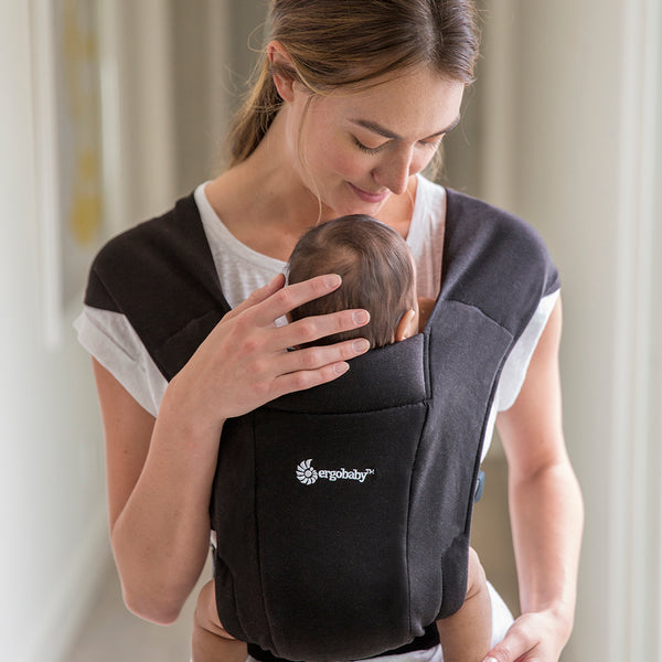 Ergobaby Embrace Newborn Carrier - Pure Black (4)