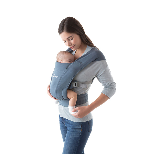 Ergobaby Embrace Newborn Carrier - Oxford Blue (1)