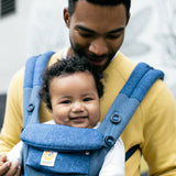 Ergobaby Omni 360 Cool Air Mesh Baby Carrier - Blue Blooms (3)
