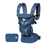 Ergobaby Omni 360 Cool Air Mesh Baby Carrier - Blue Blooms (4)
