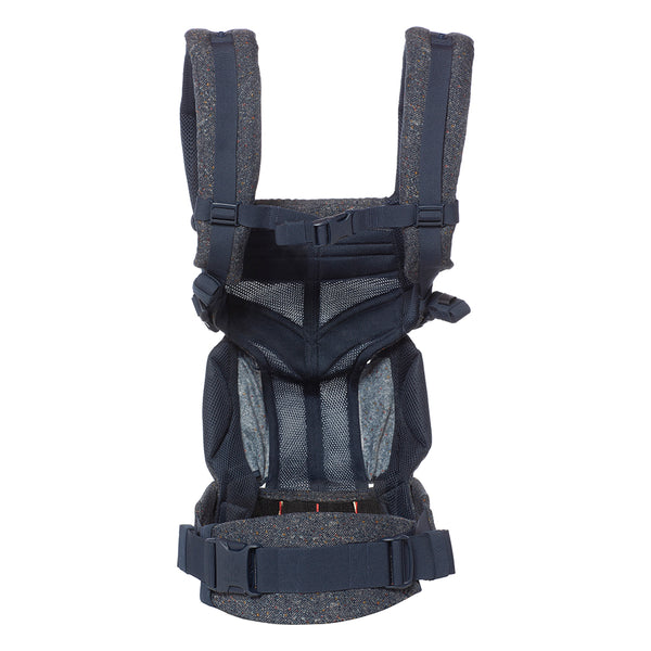 Ergobaby Omni 360 Cool Air Mesh Carrier - Blue Tweed (1)