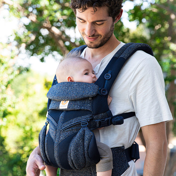 Ergobaby Omni 360 Cool Air Mesh Carrier - Blue Tweed (4)