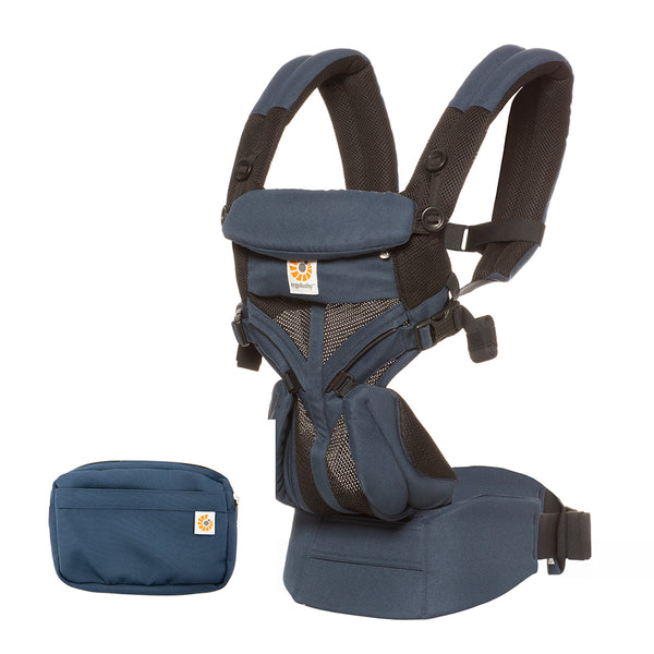 Ergobaby Omni 360 Cool Air Mesh Baby Carrier - Raven (3)