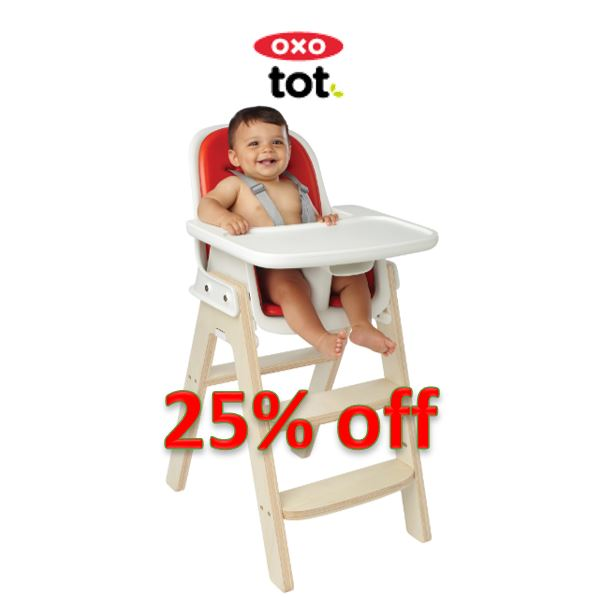 Promotion - OXO Sprout Chair 25% off (ORANGE/BIRCH ONLY)