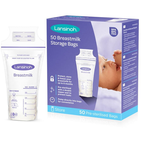 Lansinoh Breastmilk Storage Bag - 50 bags
