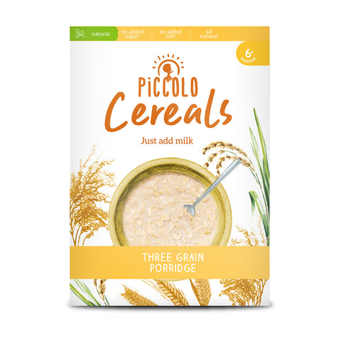 Piccolo Three Grain Porridge 125g