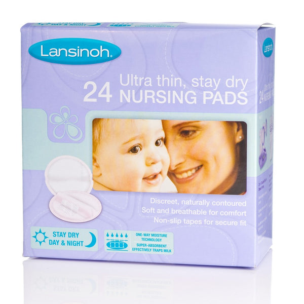 Lansinoh Ultra Thin, Stay Dry Nursing Pad - 24 pcs (1)