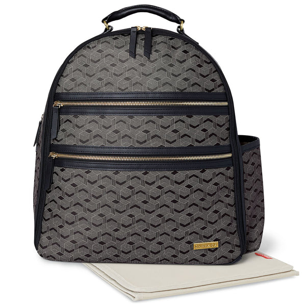 Skip Hop Deco Saffiano Backpack - Interweaved Lines (3)