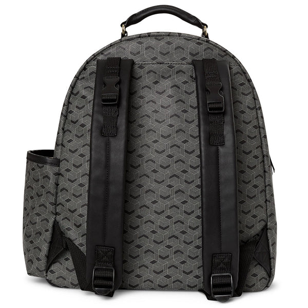 Skip Hop Deco Saffiano Backpack - Interweaved Lines (4)