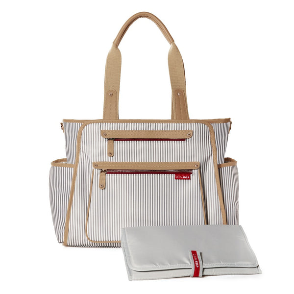 Skip Hop Grand Central Take It all Nappy Bag - French Stripe (1)