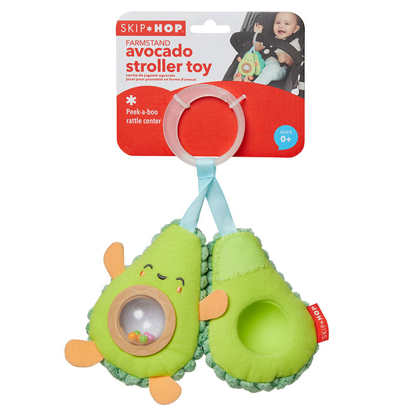 Skip Hop Farmstand Avocado Stroller Toy (2)