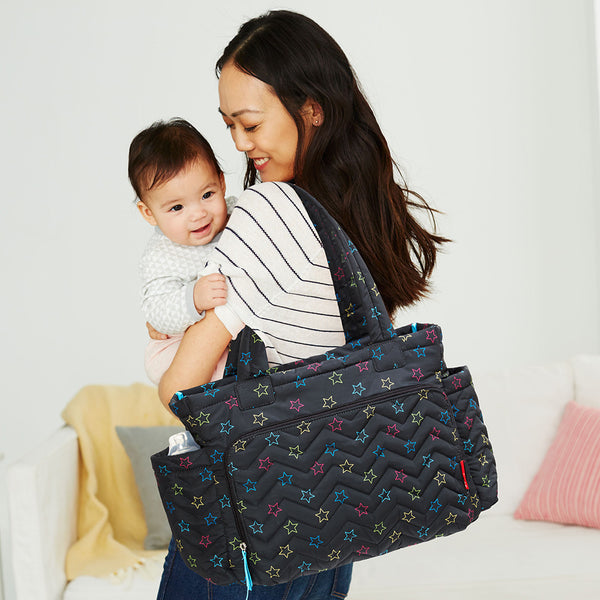 Skip Hop - Five Star Mommy Bag Tote - Star Multi (2)