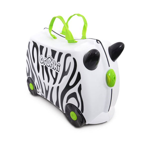 Trunki Ride-on Luggage - Zimba Zebra
