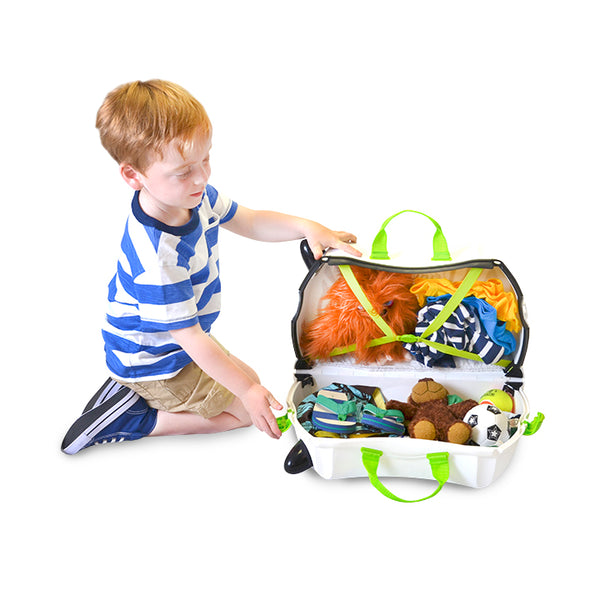Trunki Ride-on Luggage - Zimba Zebra (2)
