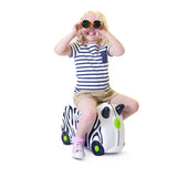 Trunki Ride-on Luggage - Zimba Zebra (3)