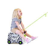 Trunki Ride-on Luggage - Zimba Zebra (4)
