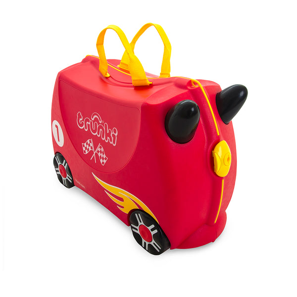 Trunki Ride-on Luggage - Rocco Race Car