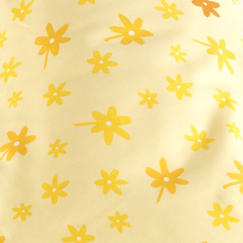 Comfort Maternity Cushion Cover - Yellow Flowers
