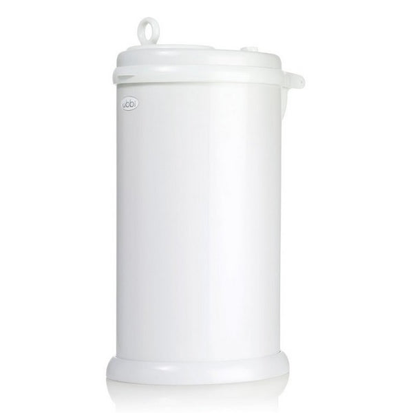 Ubbi Nappy Pail - White (3)