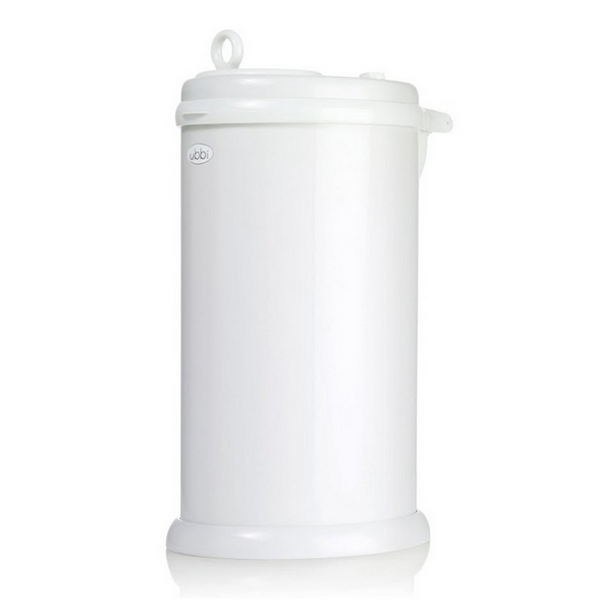 Ubbi Nappy Pail - White (4)