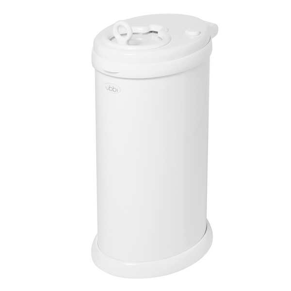 Ubbi Nappy Pail - White (5)