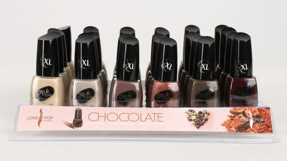 VERNIS A ONGLES CHOCOLATE LOVELY POP (lot de 6)