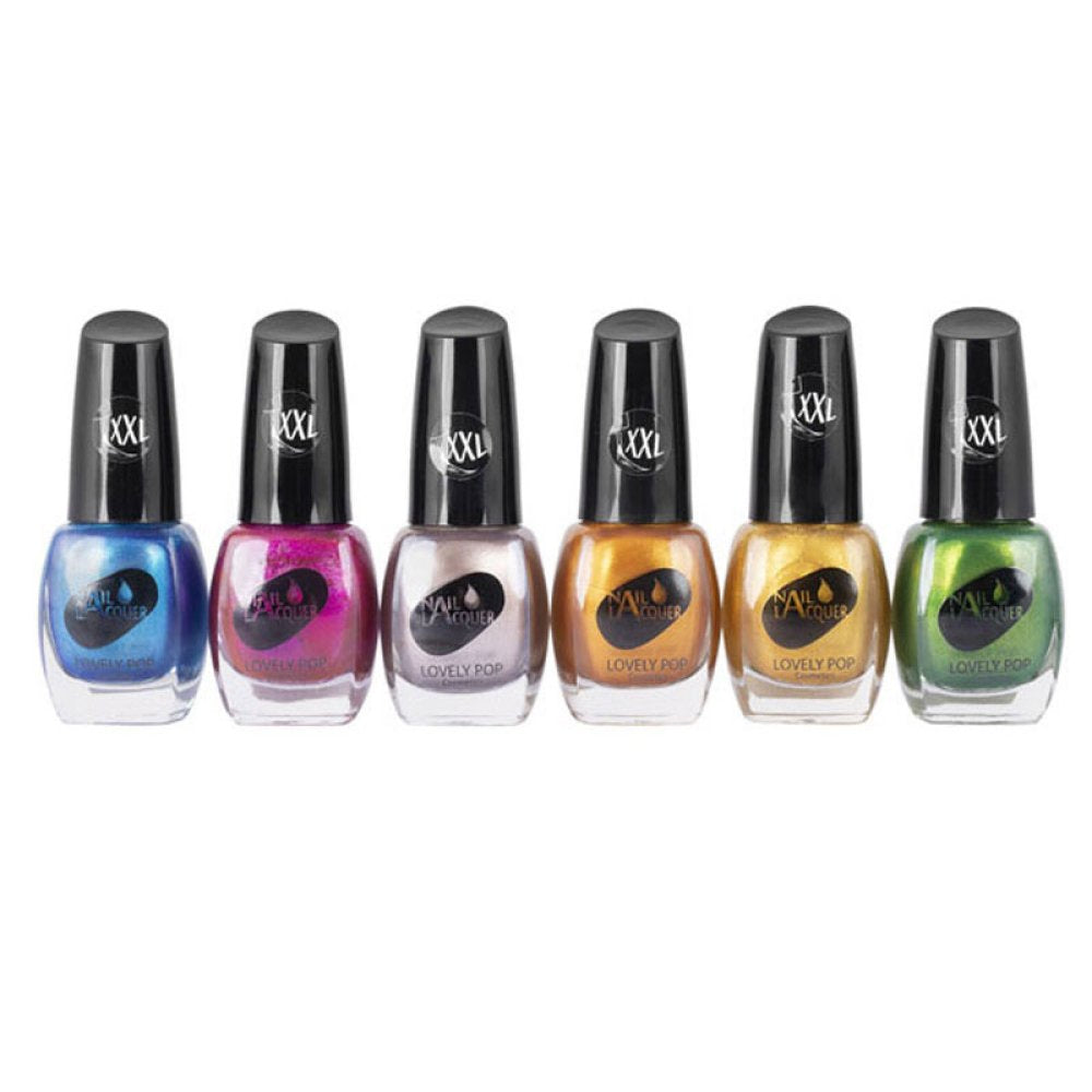 VERNIS A ONGLES SPRING PARTY LOVELY POP (lot de 6 pièces)