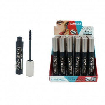 LOT DE 24 MASCARAS CARBON BLACK WATERPROOF LETICIA WELL