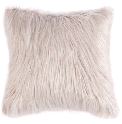 This faux fur pillow in blush is super soft!  The luxurious texture is sure to add a glamor touch to any space!