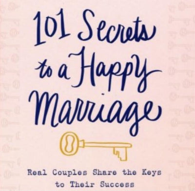 101 Secrets to a Happy Marriage provides compelling thoughts and words of wisdom with a fun twist for couples.