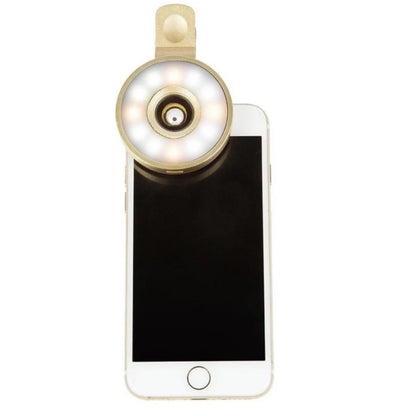 Gold GloLens is the perfect phone accessory to look picture perfect!