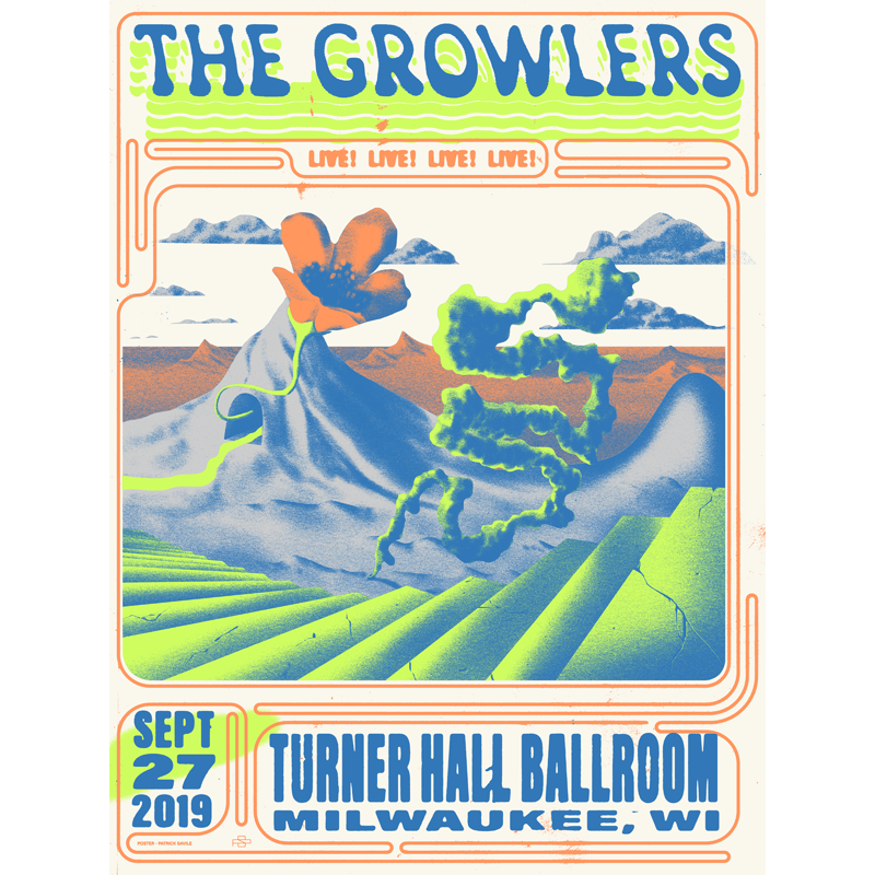 Limited Edition 9/27/2019 Milwaukee, WI Poster