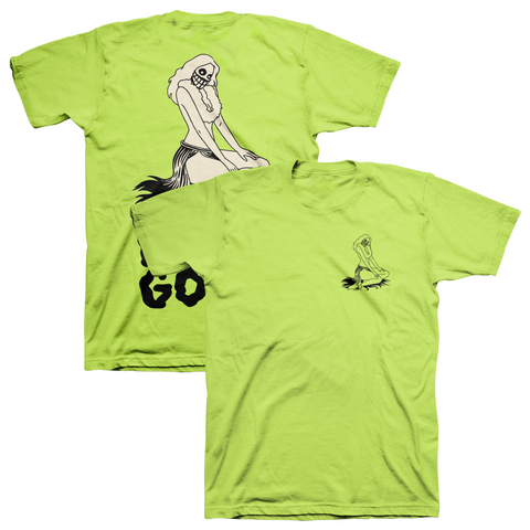 Hula Hula Ghoul T-Shirt - Lime Green