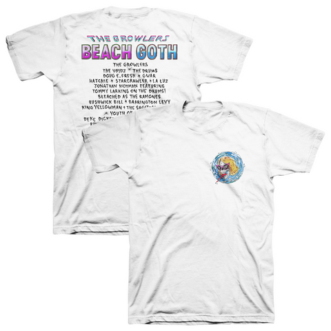 2018 Beach Goth T-Shirt - White