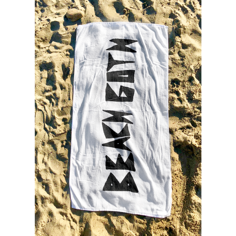 Beach Goth Logo Towel