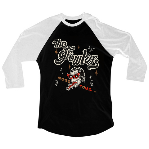 The Growlers 2020 Tour Baseball T-Shirt