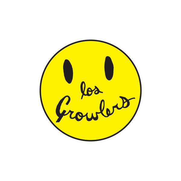 Smiley Face Patch - The Growlers - 2
