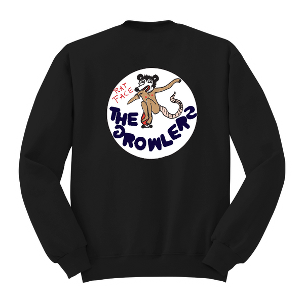 Rat Face Sweatshirt - The Growlers - 5