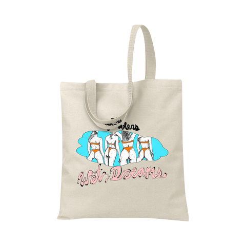 Wet Dreams Tote Bag - The Growlers - 1
