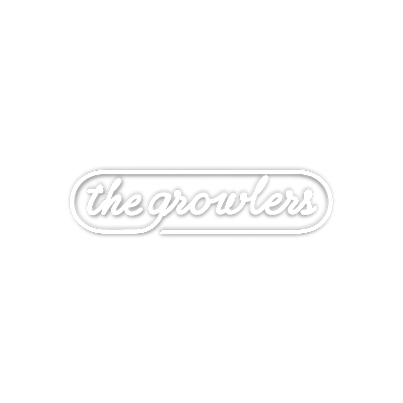 Neon Sign Vinyl Car Decal - The Growlers