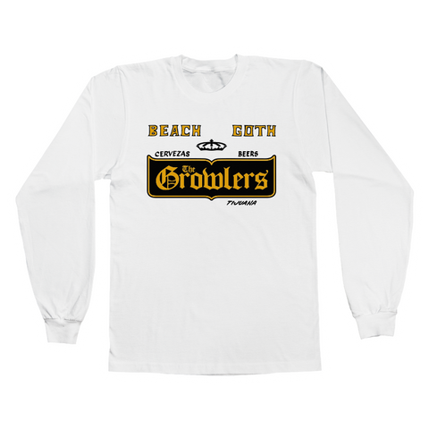 Cervezas Longsleeve T-Shirt - The Growlers