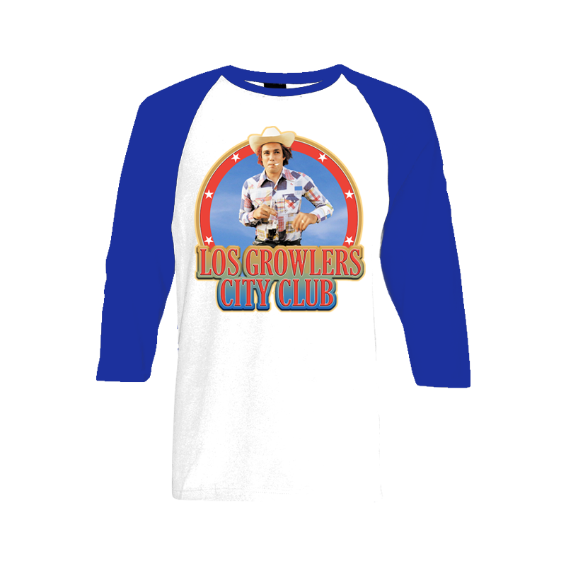 Los Growlers Iron-On Baseball T-Shirt - The Growlers