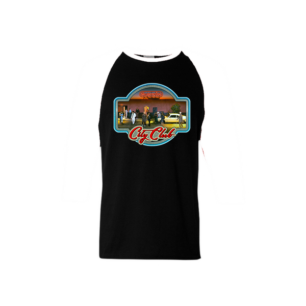 City Club Fall Tour 2016 Iron-On Baseball T-Shirt - The Growlers - 2