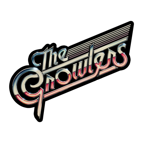 Chrome Logo Sticker - The Growlers